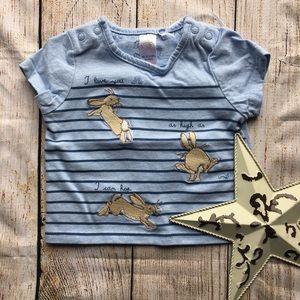 5/$15 Little Peter Rabbit T-Shirt size 0-3 months